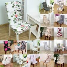 dining chair covers. 1pcs Leaf Flower Heart Stretch Home Decor Dining Chair Cover Spandex Decoration Covering Office Banquet Hotel Covers