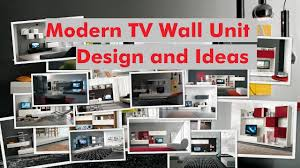 Small Picture Modern TV Wall Unit Design and Ideas YouTube
