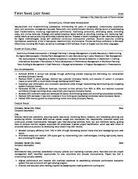 Management Consultant Resume