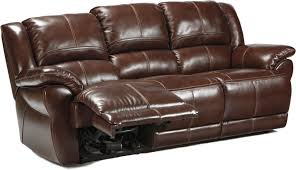Motion Leather Match Sofa with Power Option