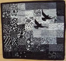 72 best black and white quilts images on Pinterest   Braid quilt ... & Color Theory for Quilters: Black and White and Grey All Over Adamdwight.com