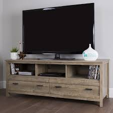Amazoncom South Shore Exhibit TV Stand For TVs Up To 60u0027u0027 Weathered  Oak Kitchen U0026 Dining 60 Tv Stand O14
