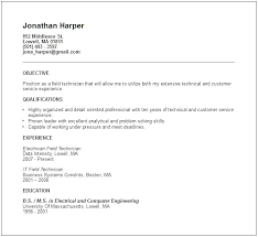 Automotive Service Technician Resume Samples Examples For Pharmacy