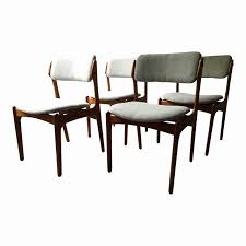 danish modern dining room chairs new vine erik buck o d mobler