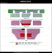 Matilda The Musical Seating Chart Cambridge Theatre London Seat Map And Prices For Matilda The