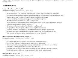 Community Manager Sample Resume Head Housekeeper Sample Resume