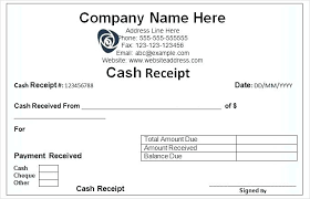 Word Receipts Receipt Template Free Word Receipt For Payment Template Free Free