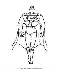Superman Disegni Da Colorare Az Colorare