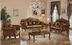 brown sofa sets. 3pc Traditional Style Formal Living Room Furniture Brown Sofa Set Carved Wood Frames Sets E