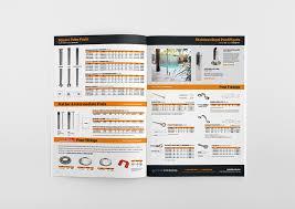 A Range Of Product Trade Catalogues Designed For Miami Stainless On