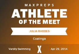 Julia Rhodes' (Coalinga, CA) Awards | MaxPreps