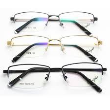 fashion imitate metal gles frame half frame myopia frame presbyopic gles thickness gold plating spectacles frame