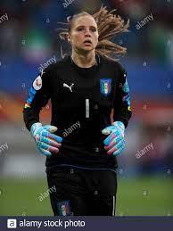 Italy's goalkeeper Laura Giuliani Stock Photo - Alamy