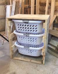 Hanging Laundry Basket Dresser