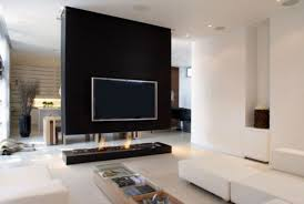 Tv For Living Room Beautiful Simple Wall Mounted Tv Idea For Room Divider In Open