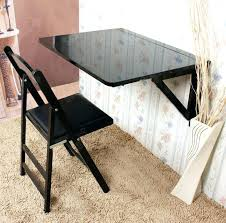 fold down dining table wall mounted drop leaf folding wood desk foldable and 6 chairs