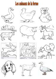 10 Livre Coloriage Animaux De La Ferme Pdf