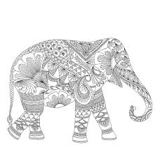 Small Picture Download Elephant Coloring Pages For Adults