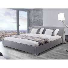 contemporary grey rey upholstered bed frame  £  groovy