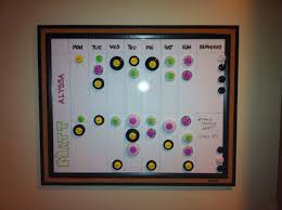 Household Chore Chart For Couples Couples Chore Chart Magnets To Mix Up Responsibilities