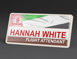 Sample Name Badge Our Sample Emirates Name Badge Sports Their Regal Logo And