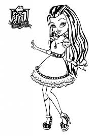 Small Picture 172 best Coloring Pages Monster High Ever After etc images on
