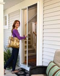 retractable screen doors. Clearview Screen Repair Retractable Screens For Sliding Glass Doors Invisible Door Home Depot R