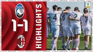 Highlights   Atalanta 1-1 AC Milan Primavera   Matchday 17 Primavera 1 TIM  - YouTube