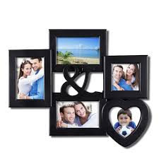 modern picture frames collage. Furnistar Decorative Black Plastic Wall Hanging Collage Ampersand Picture Photo Frame. Simple Modern Borders Surround Your Photographs In This Of Frames