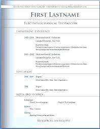 Resume Template Word Modern Day Candidate Word Doc Resume Template ...