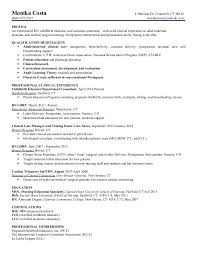 International Registered Nurse Sample Resume