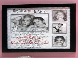 sisters picture frame big sister little brother collage