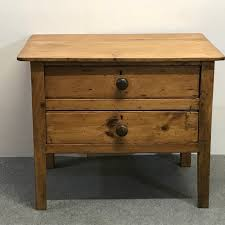 small old english pine monastery side table c 1870 1 of 8