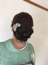Moriyama Mamiさんのヘアスタイル 訪問着ヘア訪問着着付