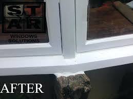 have you noticed wood rot on your wooden door or window frames when left untreated can repair window frames