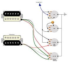 coil tap blend pot guitarnutz  we have master vol master tone pickup blender instead of a 3 way switch plus a dual 500k linear pot for coil splitting have i got the wires wrong on the