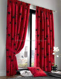 Red Bedroom Curtains Black And Red Curtains For Bedroom Best Bedroom Furniture Sets
