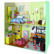 diy dollhouse furniture. Cute Living Room Dollhouse Miniature Diy Doll House Wooden Building Model Furniture Child Toys 11103 -in Houses From \u0026 Hobbies On