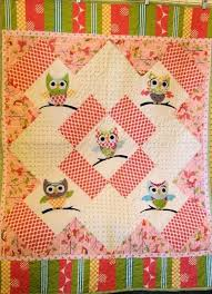Baby Owl Quilt Etsy Owl Applique Baby Quilt Pattern 1 5 Owl Baby ... & Baby Owl Quilt Etsy Find This Pin And More On Sewing Owl Patterns Very Cute  Appliqued Adamdwight.com