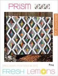 Yellow Brick Road Quilt Pattern, Modern Quilt Pattern, String ... & Modern Quilt Pattern - Prism - PDF Adamdwight.com