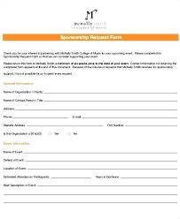 Sponsorship Request Form Fairy Vaultradio Co