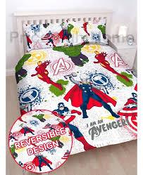 marvel avengers bedding set marvel avengers mission double duvet cover set captain boys children kids bedding