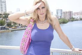 Tanya Tate hot blonde fucks by the water BangBros 16 Pictures.