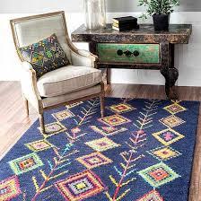nuloom wool area rug marocan style
