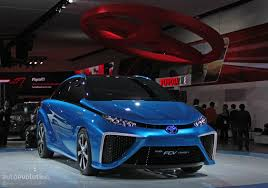 2014 Toyota FCV Concept: Blue Is the New Green in Detroit [Live ...