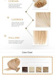 Full Shine Color Chart Details About Double Drawn 8a Pre Bonded Keratin Nail U Tip Glue Remy Human Hair Extensions 1g