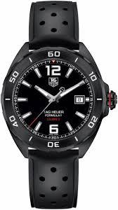 waz2115 ft8023 tag heuer formula one mens black automatic watch tag heuer formula 1 waz2115