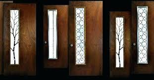 glass front door inserts l stained glass door inserts for folding doors exterior sporringinfo cut glass glass front door inserts