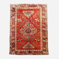 lot 51 handmade wool oushak persian rug 6 8x10 3