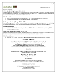 Astonishing Training Resume 90 With Additional Simple Resume With Training  Resume